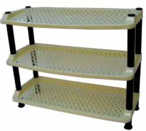 shoe rack tier 3