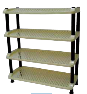 shoe rack tier 4